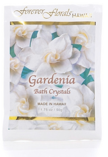 GARDENIA BATH CRYSTALS - ISLAND BATH MINERAL SPA