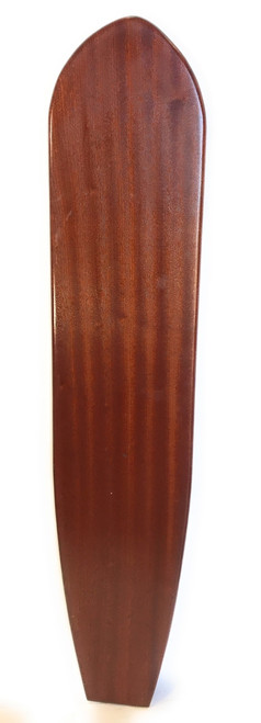 "Replica Vintage Wooden Longboard 60"" X 12"" Hawaiian Heritage | #koalb4"
