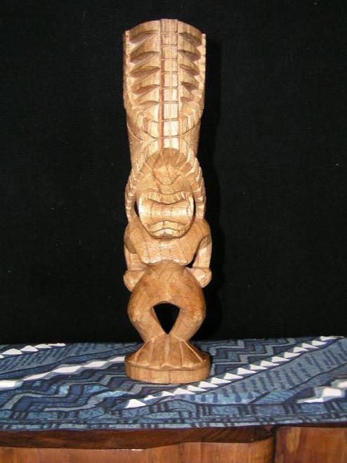 "Hurricane Tiki Totem 8"" - Hibiscus Wood | Protection Tiki"