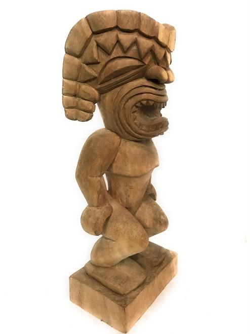 "Oahu Ku Tiki 24"" - Traditional Hawaii Museum Replica | #mrysmpl1"