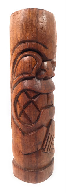 "Kailua Tiki Totem 12"" Stained - Tropical Decor   #Yda1100930b"