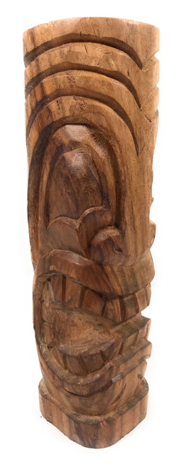 "Big Island Tiki Totem 12"" Natural - Money Tiki 