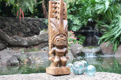 """Tiki Akua Kai 24"""" - Hawaii Museum Replica - Ocean Tiki"""