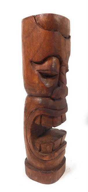 "Makaha Tiki Totem 12"" Stained - Prosperity Tiki 