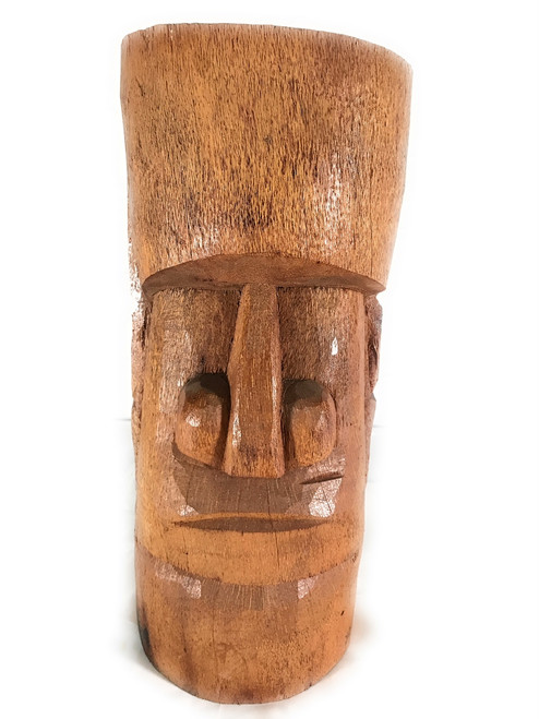 "Easter Island Tiki Statue 20"" - Outdoor Pool Decor 