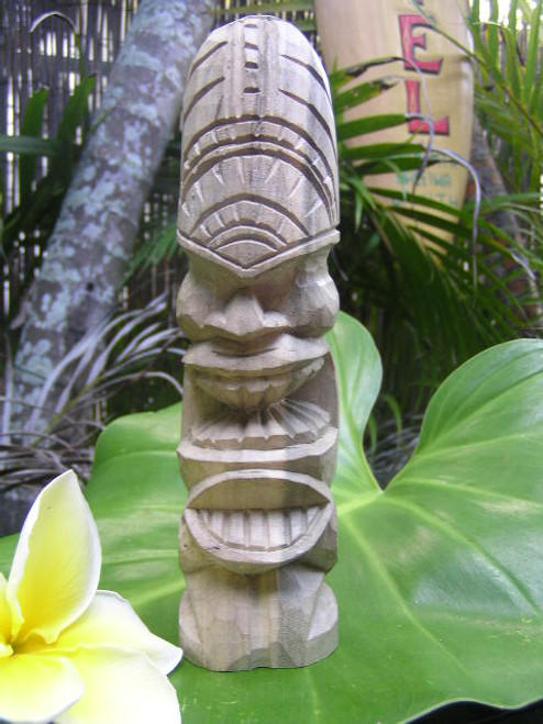 "Love Tiki Totem 8"" - Hibiscus Wood 