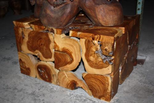"Teak Root Coffee Table 32"" X 24"" X 18"" - Bali Art Decor"