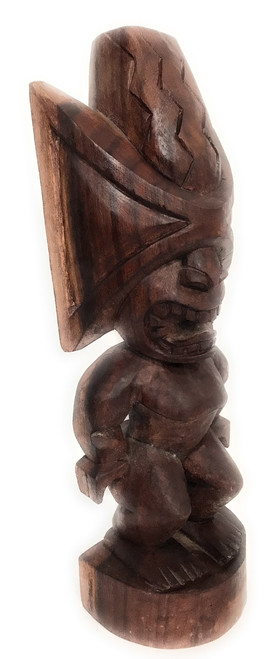"Ku Kona-Style Tiki 20"" - Stained - Traditional Hawaii Museum | #yda1103050s"