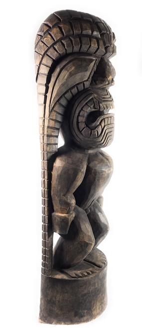 Tiki God Of King Kamehameha 48 Quot Kuka Ilimoku Stained