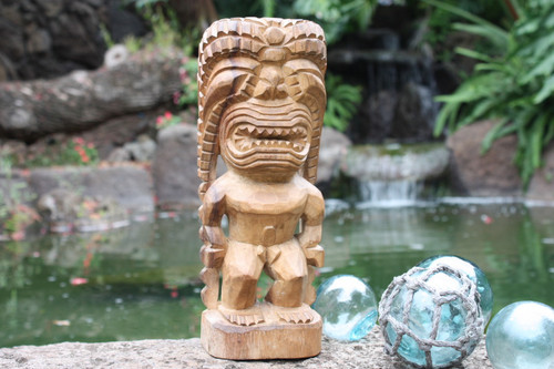 "Kanaloa Tiki 12"" - Hawaii Museum Replica - Hawaiian Mythology"