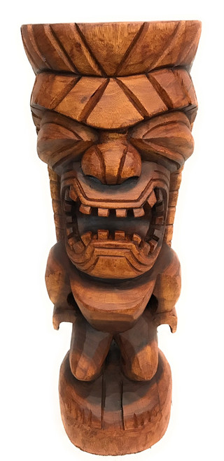 "Traditional Tiki Kuka Ilimoku 32"" - Authentic 