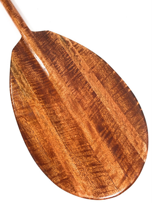 "Curly Inlays With Mango Decorative Paddle 60"" - Made in Hawaii 