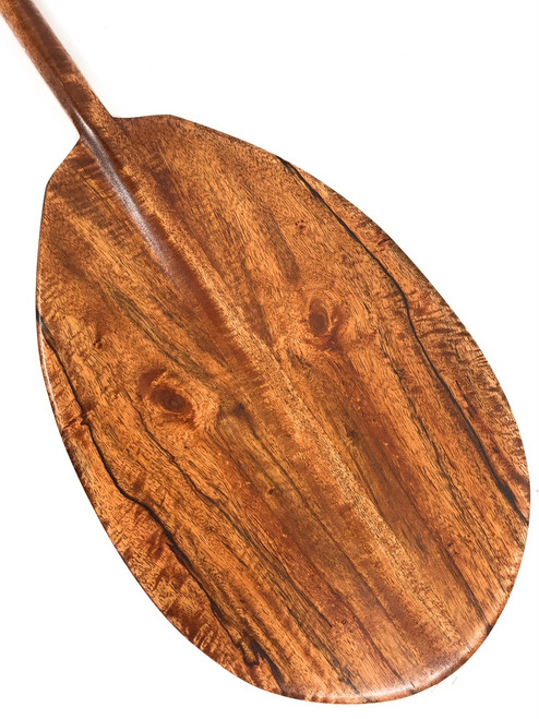 "Owl Design Mango Decorative Paddle 60"" - Made in Hawaii 