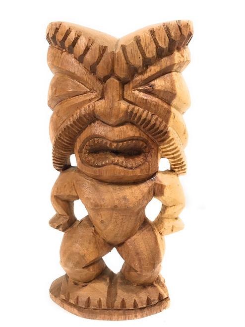 "Ku Tiki 12"" - Made in Hawaii - Hand Carved Signed by Senituli | #sp01hi"