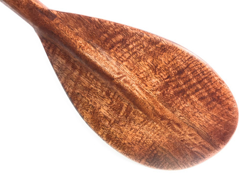 "Blonde Curly Koa Paddle 36"" Trophy - Made In Hawaii | #koa6064"