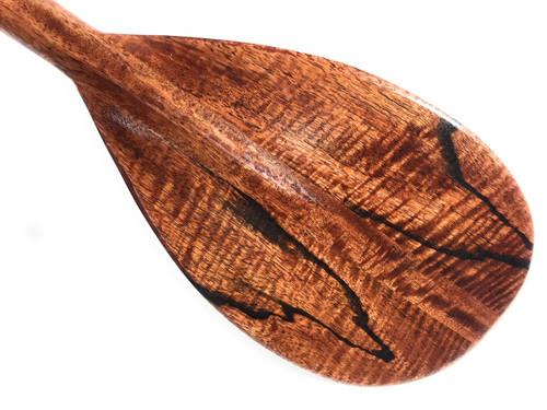 "Curly Mango Paddle 36"" Trophy - Steersman Design Made In Hawaii | #koa6056"