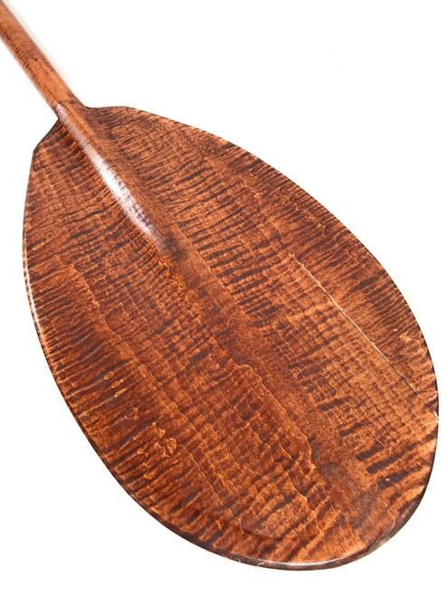 "Steersman Decorative Paddle 60"" - Tiger Curls   #koa6095"
