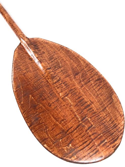 "Decorative Paddle 60"" Steersman - Tiger Curls   #koa6094"