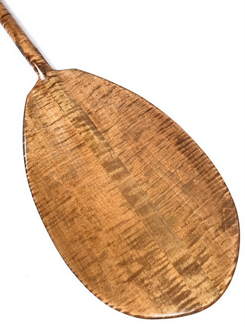 "Decorative Paddle 60"" Steersman - Blonde Tiger Curls   #koa6093"