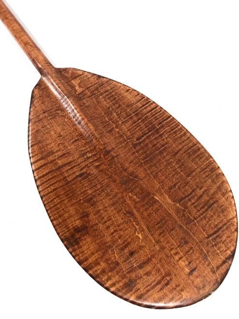 """Wall Hanging Paddle 60"""" Steersman - Blonde Tiger Curls   #koa6089"""