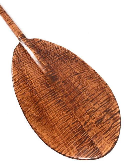 """Wall Hanging Premium Paddle 60"""" Steersman - Blonde Tiger Curls   #koa6088"""