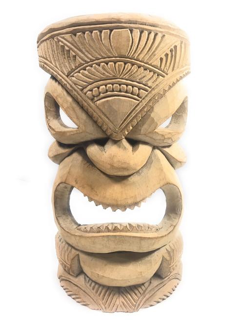 "Hand Carved Tiki Mask 14"" - Hibiscus Wood - Made In Hawaii | #tmmk02"