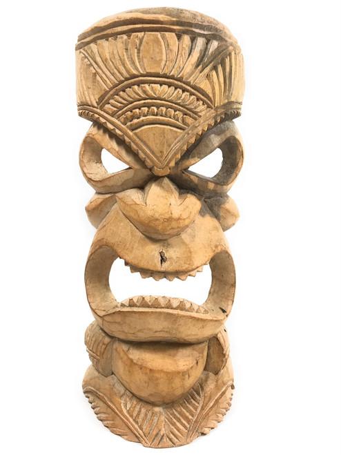 "Hand Carved Tiki Mask 12"" - Hibiscus Wood - Made In Hawaii | #tmmk07"