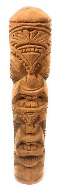 "Love/Prosperity Tiki Totem 14"" Hibiscus Wood - Made In Hawaii | #poko27"