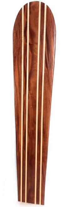 "Koa Surfboard Quadruple Stringer 78"" X 16"" Hawaiian Vintage   #koalb26"