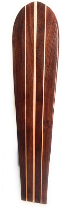 "Koa Surfboard Double Stringer 60"" X 12"" Hawaiian Vintage | #koalb31"