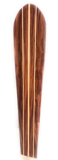 "Koa Surfboard Double Stringer 60"" X 12"" Hawaiian Vintage | #koalb32"