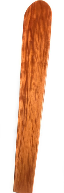 "Curly Koa Surfboard 98"" X 15"" Vintage Replica Hawaiian 