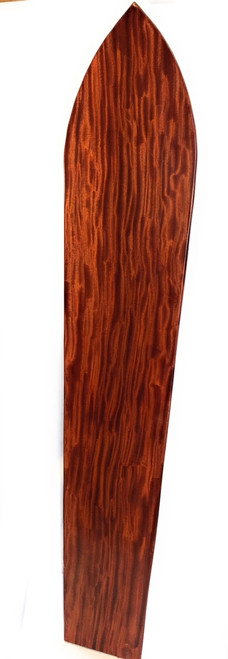 "Curly Koa Surfboard 96"" X 19"" Vintage Replica Hawaiian 