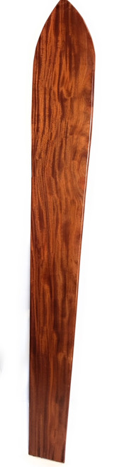 "Vintage Replica Hawaiian Curly Koa Surfboard 96"" X 13"" 