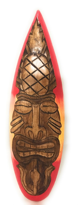 "Hospitality Tiki Mask 22"" Wall Plaque - Tribal 