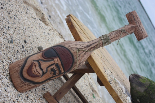 """PIRATE EYE PATCH"" OAR/PADDLE 24"" - PIRATE DECOR"