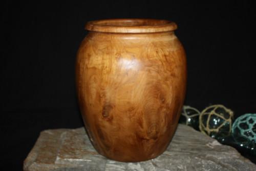 "Teak Root Jar/Vase 12"" X 10"" - Center Piece | #HWA140"
