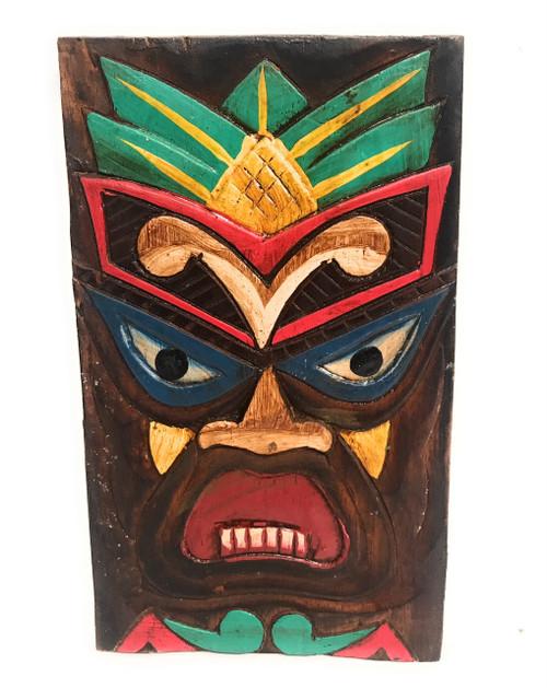 "Hospitality Tiki Shield Mask 8"" Plaque - Pop Art Culture | #dpt512520"