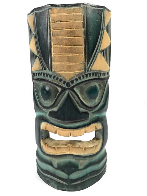 "Ocean/Fishing Tiki Mask 12"" - Hawaiian Decor 