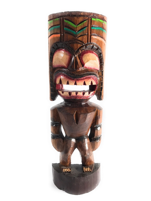 "Big Kahuna Tiki Statue 16"" - Tiki Trophies 