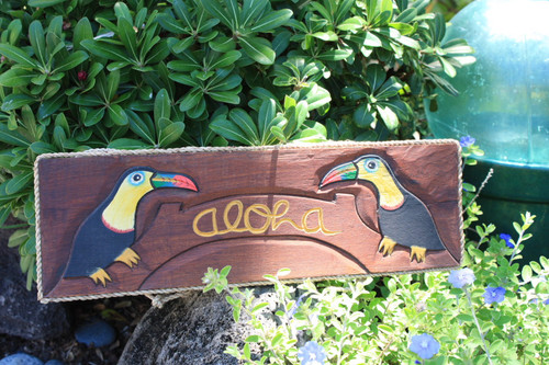 "PARROT ALOHA SIGN - 20"" TEQUILLAVILLE"