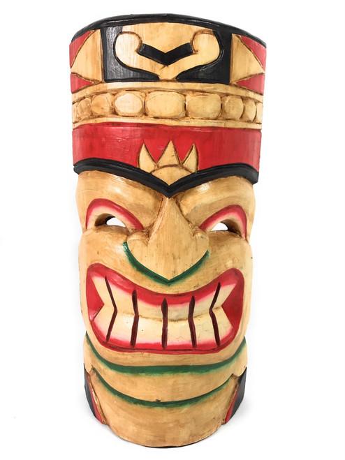 "Polynesian Tiki Mask 12"" - Hawaiian Decor   #dpt514330"