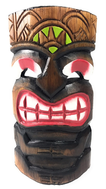 "Pop Art Tiki Mask 8"" - Strength Tiki Art 