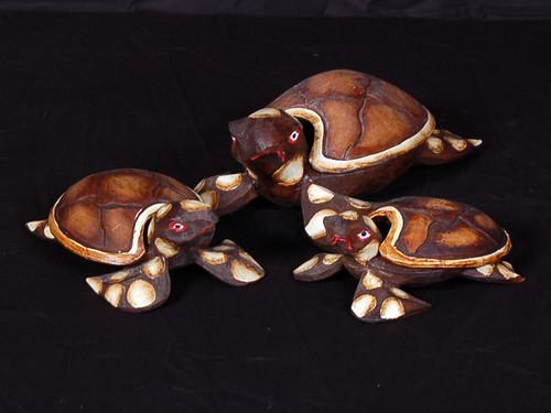 Set of 3 Turtles Ashtray/Keepsake Box | #dpt5129s3