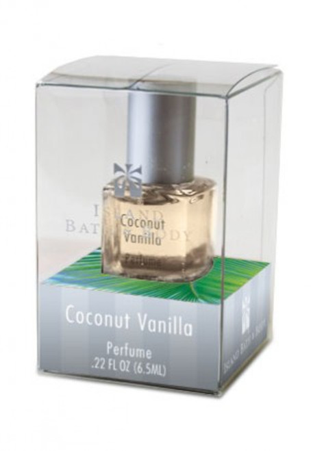 Island Bath And Body Coconut Vanilla Boxed Perfume 0.22oz.