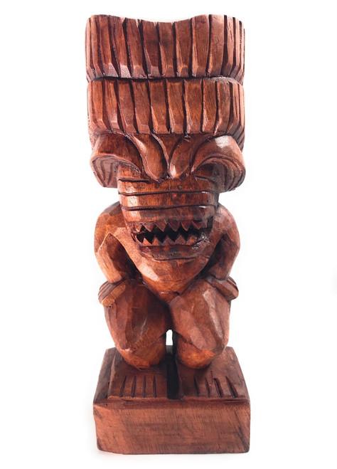 "Ku Tiki 12"" - Authentic Replica - Hand Carved | #bla601530"