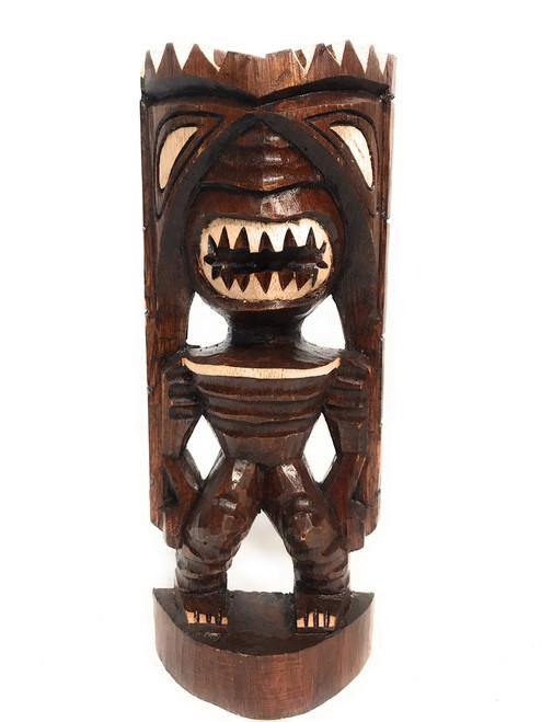 """Pahaku Tiki 12"""" - Winner Tiki Idol - Hand Carved   #dpt533530"""