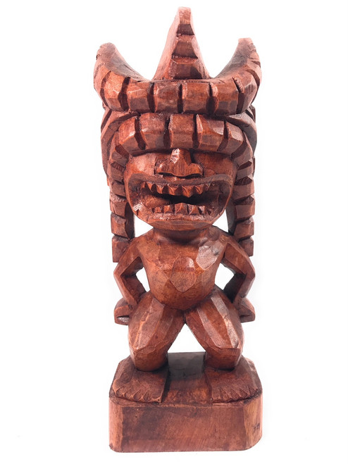 "Lono Tiki 12"" - Authentic Replica - Hand Carved | #bla601730"