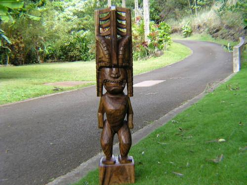 "Premium Tiki Akua Kai 48"" - Ocean Tiki - Hawaii Museum"
