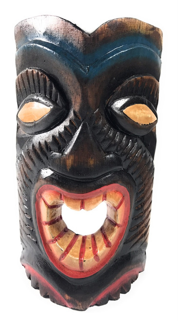 "Laughing Tiki Mask 8"" - Happy Tiki Idol 